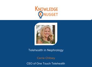 Telehealth in Nephrology