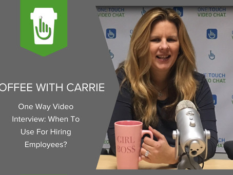 One Way Video Interview: When To Use For Hiring Employees?