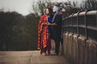 Bride Couple Shot