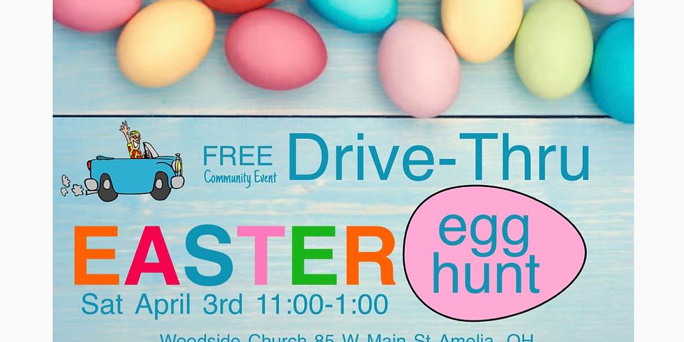 Free Drive-Thru Egg Hunt