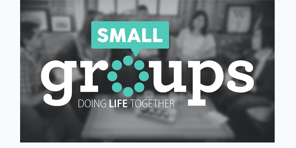 Small Groups and Discipleship Groups Registration