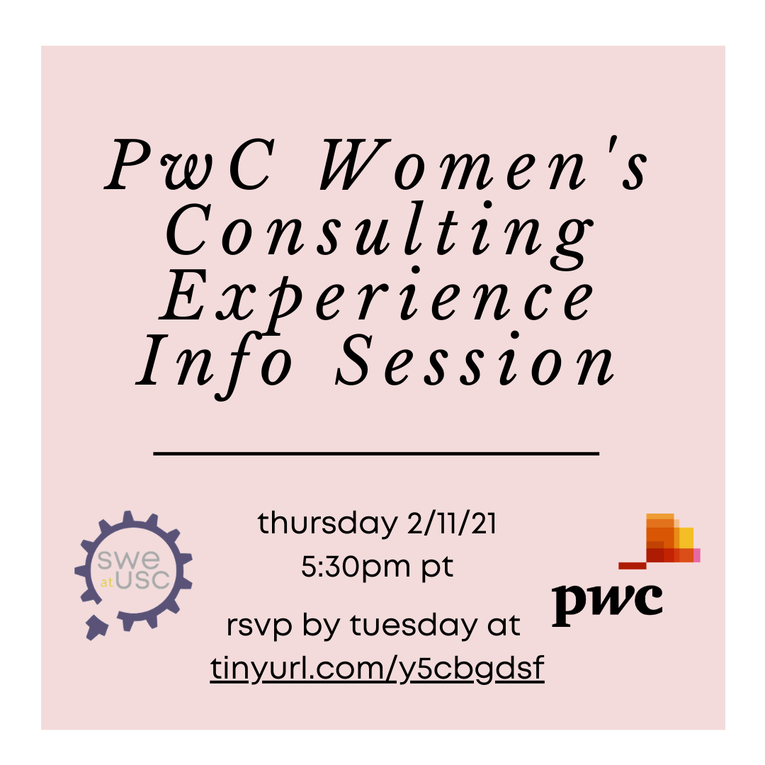 PwC Women's Consulting Experience Info S