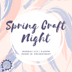 Spring Craft Night