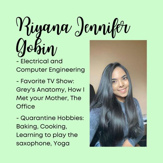 Riyana Jennifer Gobin