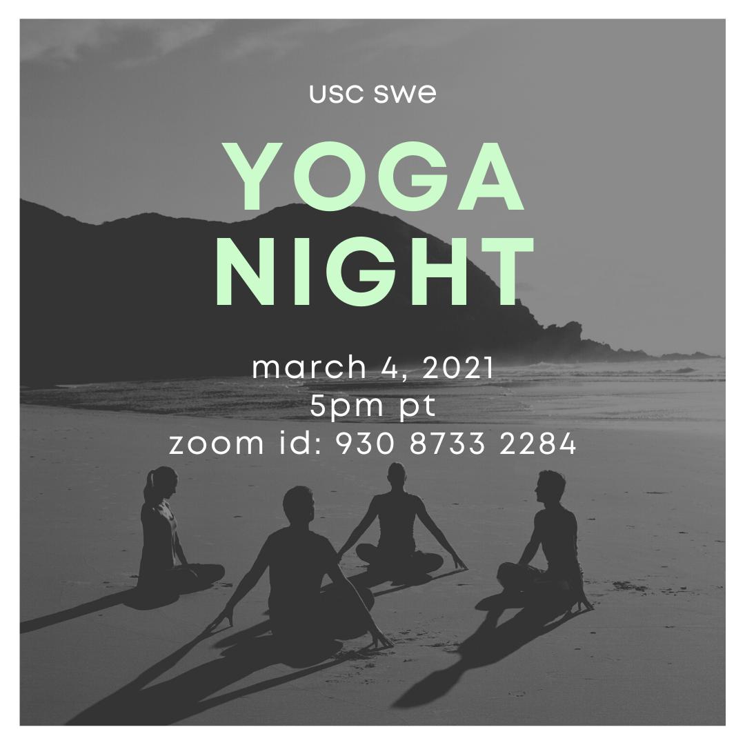 swe yoga night
