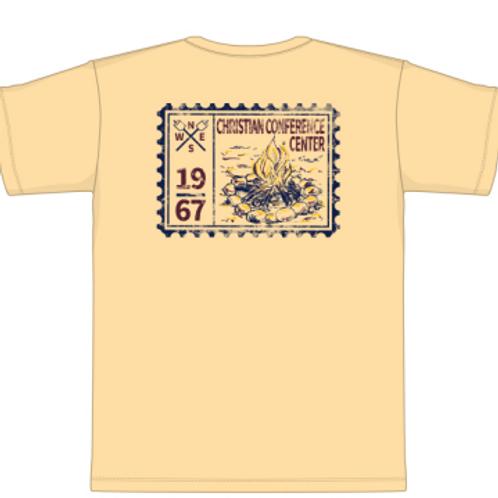 2020 Camp Tee Yellow
