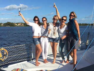 Ladies Day Out With A Sunset Sail, October 2016