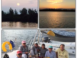 Moonrise Sunset Sail, November 2016