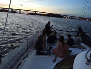 More Travel Journalist Sail Aboard Moonraker, June 2016