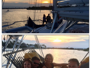 Family Vacation Sunset Sail, June 2018