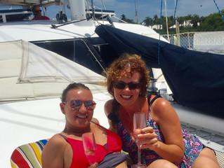 Birthday Sail & Swim Celebration, June 2018