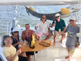 Friends BBQ & Sunset Sail, September 2018