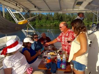 Birthday Sunset Sail & Good Friends, September, 2016