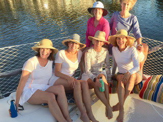 Ladies Sunset Sail, January 2020