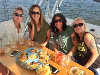 Friends & Birthdays Aboard Moonraker, September 2018