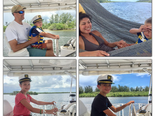 Family Vacation Afternoon Sail, June 2018
