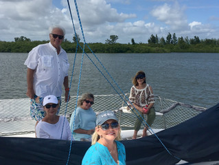 Relaxing Afternoon Sail, October 2019