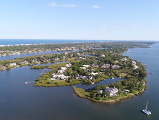 John's Island Aerial View, March 2018