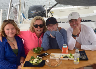 Family Day Aboard Moonraker, March 2019