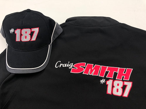 Embroidered Softshell Jacket & Hat
