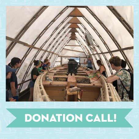 DONATION CALL!