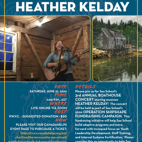Boathouse Concert starring Heather Kelday!