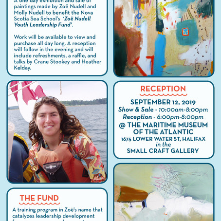 BENEFIT ART SALE for the ZOË NUDELL YOUTH LEADERSHIP FUND