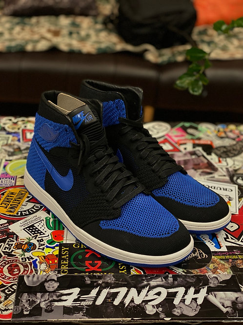 Air Jordan 1 Royal fly knit