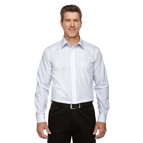 Men's Embroidered Oxford Tattersal Button Down