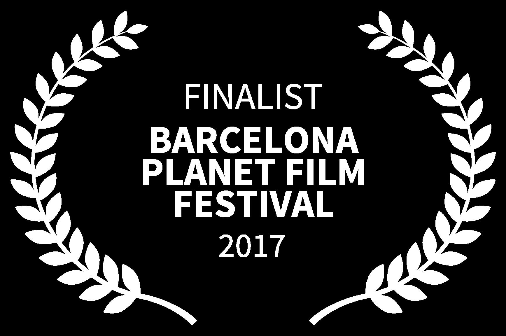 FINALIST - BARCELONA PLANET FILM FESTIVAL - 2018