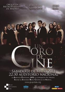 Un coro de cine