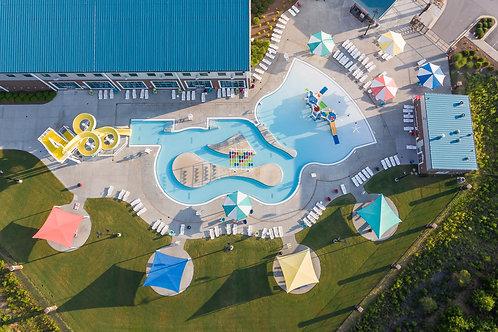 Cumming Aquatic Center Arial