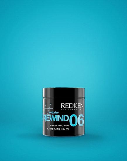 REDKEN Pâte Rewind 06 180ml
