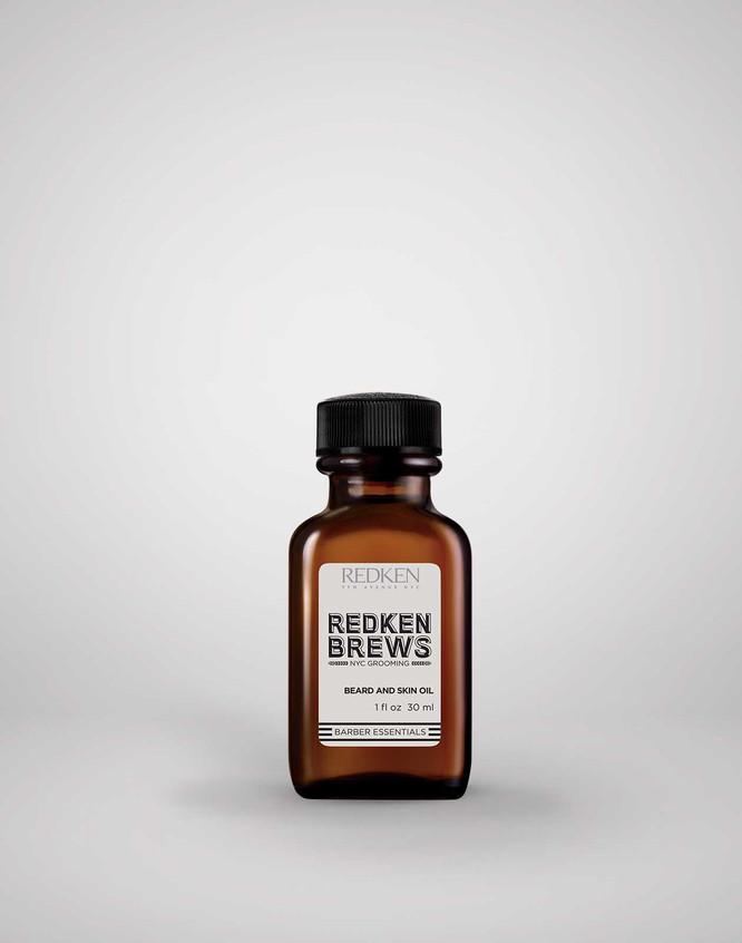 2017 Redken Brews Skin Beard Oil RGB