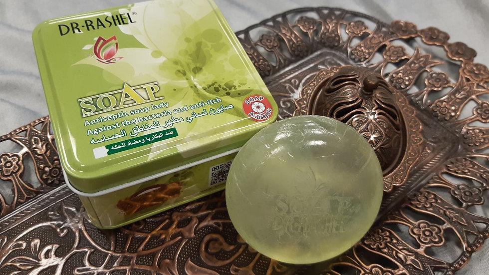 Антибактериальное мыло для интимной гигиены Dr-Rashel 100 г.