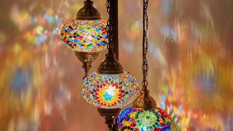 Лампада 3 светильника