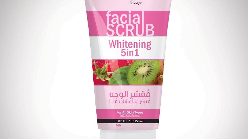 Скраб для лица отбеливающий 5в1 Хемани / facial SCRUB Whitening 5in1 150 ml