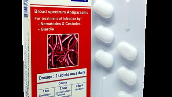 Bendax - таблетки от глистов 6 таблеток