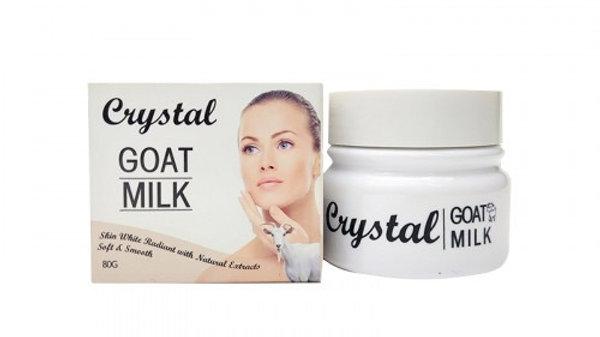 Крем для лица Crystal Goat Milk Козье молочко 80 гр
