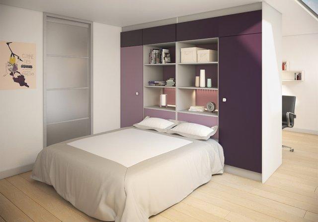 Chambre-studio_dressing-Gamme-Creative-ferme-et-sparation-sogalslide