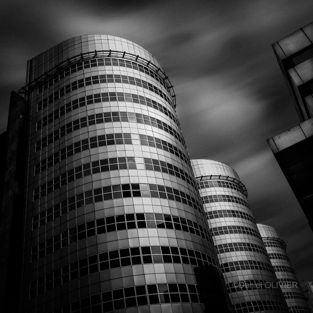 Rotterdam - Les cylindres - Daniel Olivier