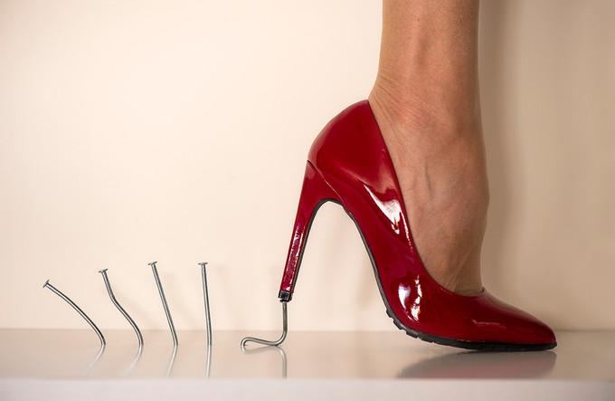 Le soulier rouge - Didier Driessens