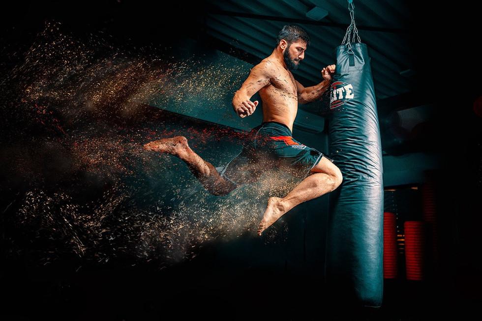 Le boxeur - Philippe Debooser