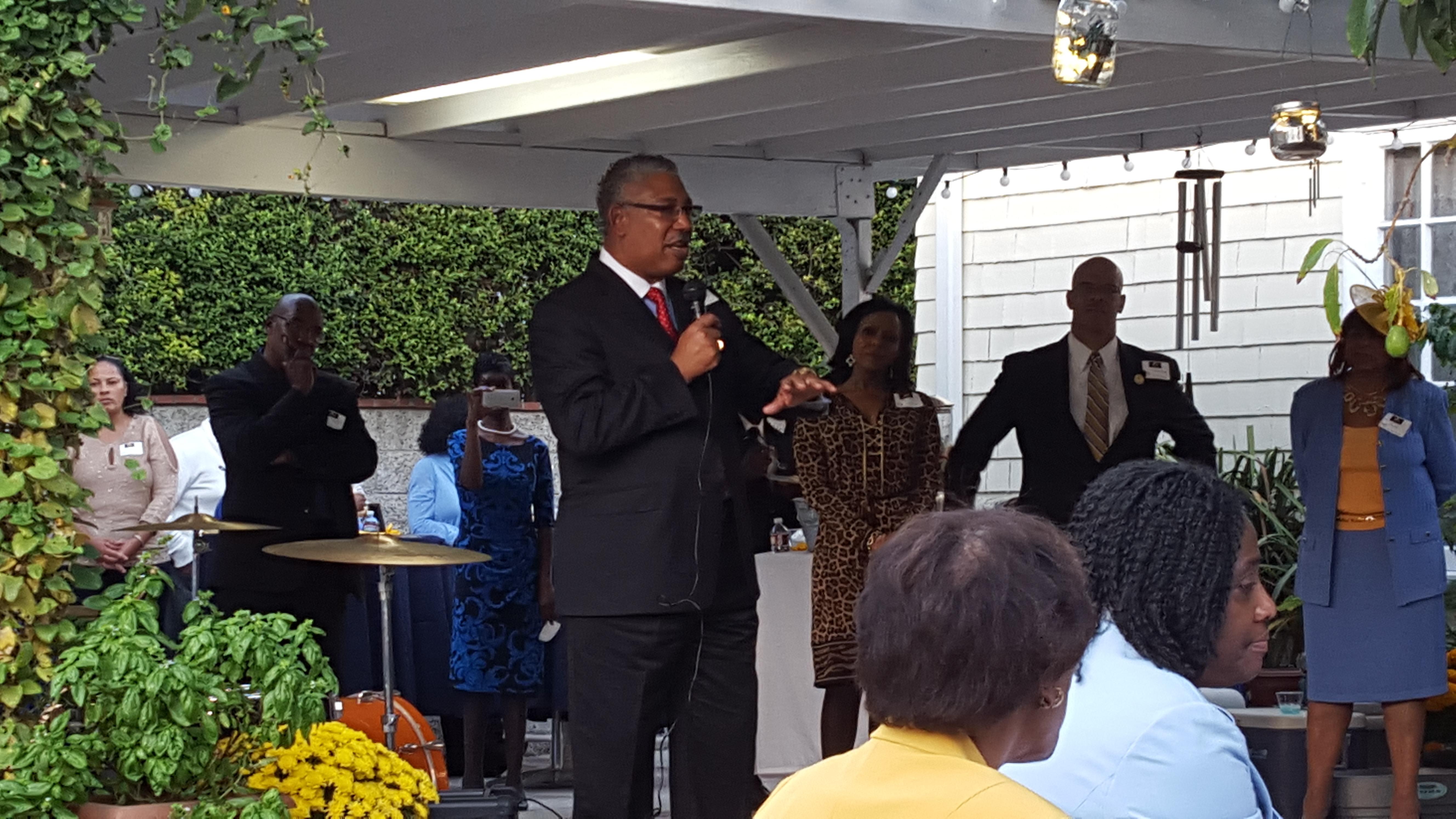 Dr. Ray L. Belton. President