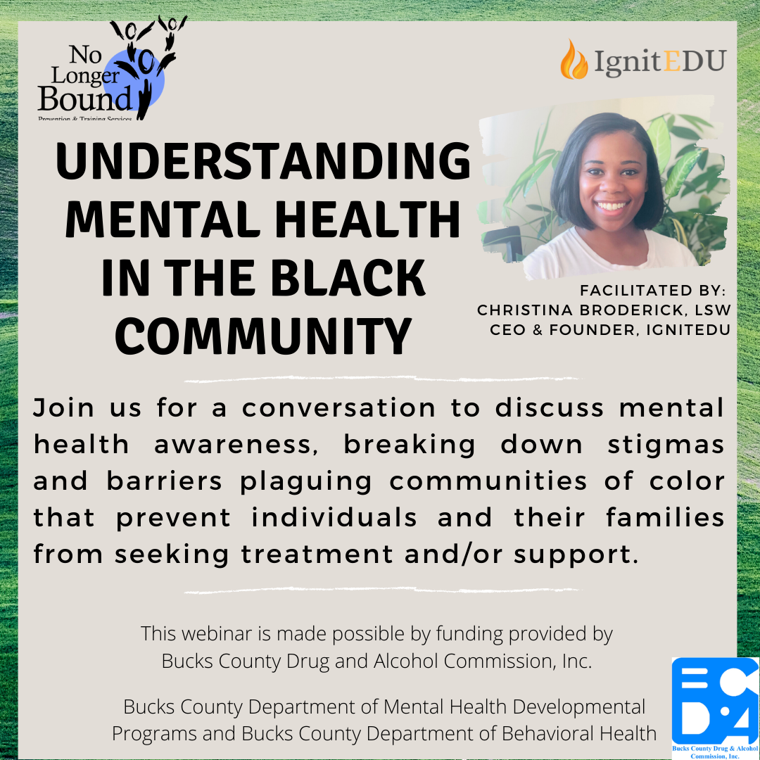 Mental Health in the Black Community