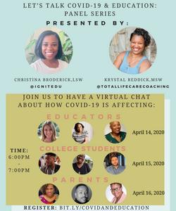 COVID & Education Panel Series