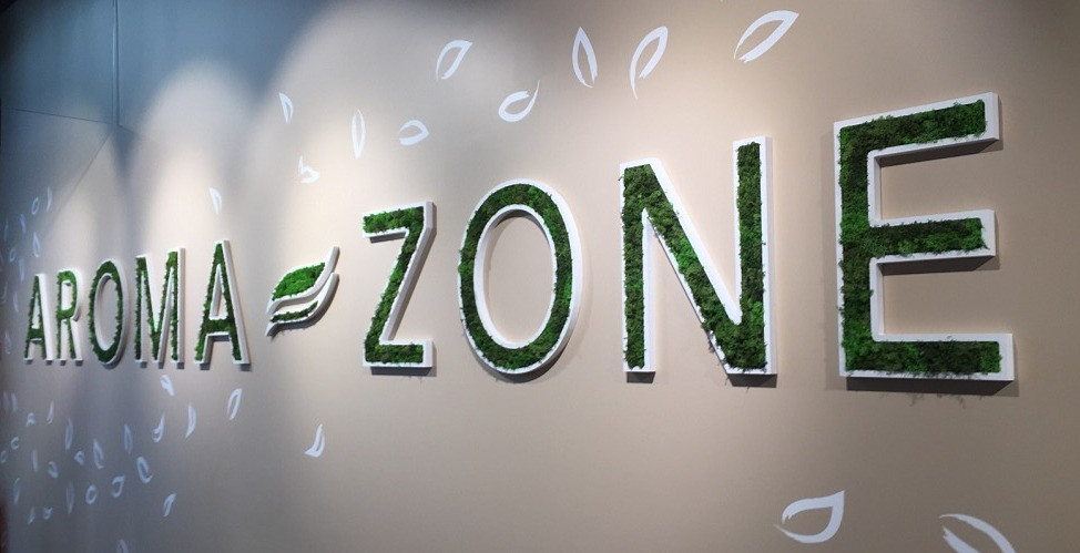 SCENOGRAPHIE AROMA-ZONE LYON