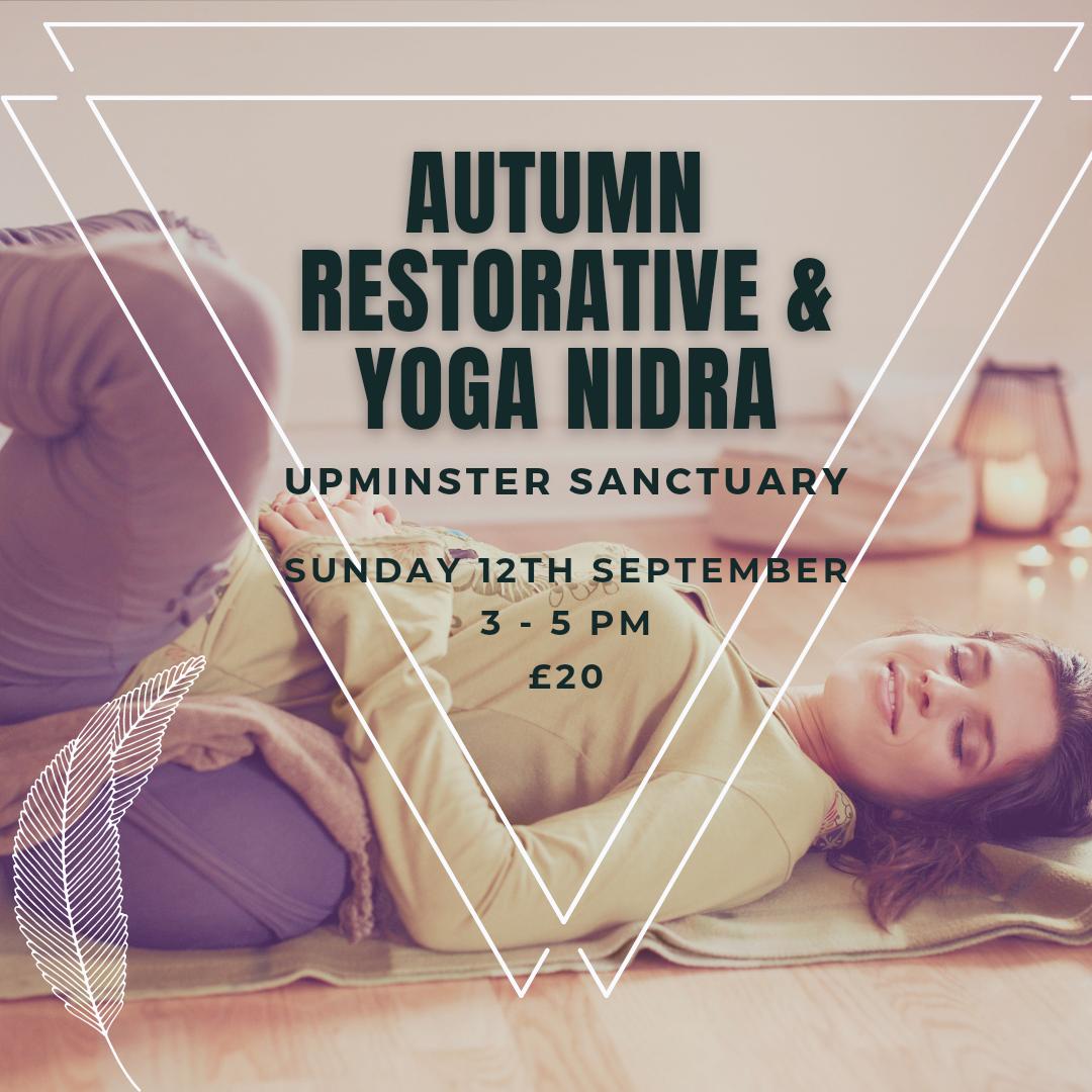 Autumn Restorative and Yoga Nidra