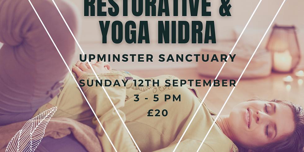 Autumn Restorative Yoga