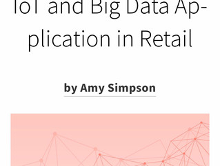 Case Study: Blogging - IoT and Big Data Application in Retail